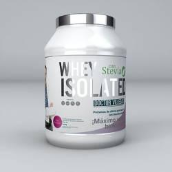 Whey Isolated Proteiini, Dr Villegas, 1,5 kg jauhepurkki. Mansikan maku