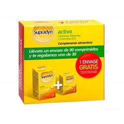 Supradyn Activo vitamiinit, Bayer, 90kpl + 30kpl