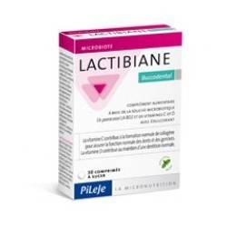Pileje Lactibiane Bucodental maitohappobakteeri imeskelytabletit suun hyvinvointiin, 30kpl
