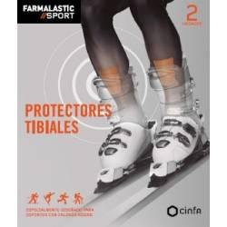APOSITO PROTECTORES TIBIALES FARMALASTIC SPORT 2