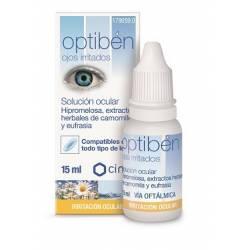 Optiben Silmätipat Allergisille, 15ml pullo