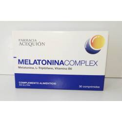 MELATONINACOMPLEX 30 COMPRIMIDOS