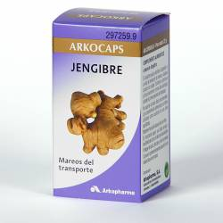 ARKOCAPSULAS JENGIBRE 50 CAPSULAS