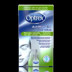 Optrex Silmäsuihke, 2 yhdessä, väsyneille ja kuiville silmille,10ml