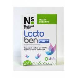 N+S Lactoben purutabletti Laktoosia vastaan
