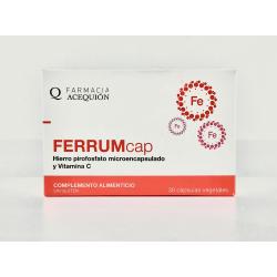 Ferrum Acequion rauta, 30 kapselia