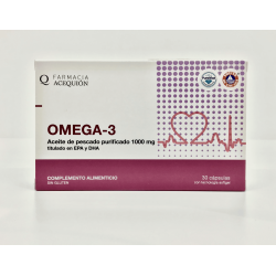 Acequion Omega -3, 30 kapselia